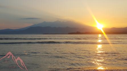 Sunrise ~ Gili Air, Indonesia
